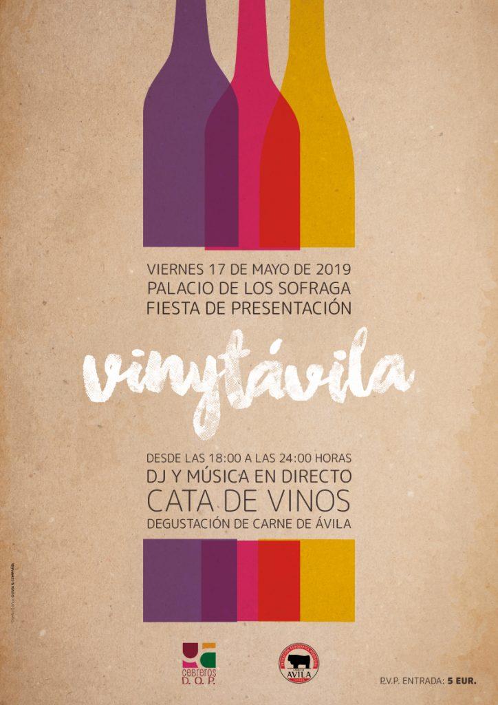 La antesala de VinyTÁvila 2019 se vivirá con una gran fiesta de presentación