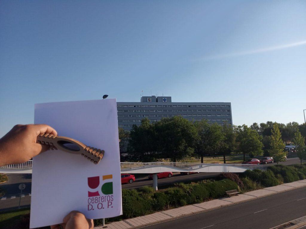 La D.O.P. Cebreros dona material sanitario al Hospital gracias a la campaña #EnoturismoParaSanitarios